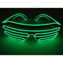 LED Neon Brille Grün