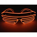 LED Neon Brille Rot