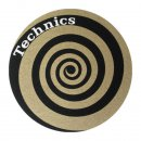 Slipmat Technics Spirale gold