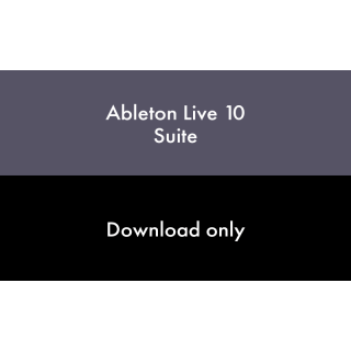 Ableton Live 10 Suite UPG Live 10 Standard - Download Code