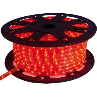 Eurolite RUBBERLIGHT LED RL1-230V rot 44m B-Ware