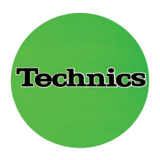 Slipmat Technics grün