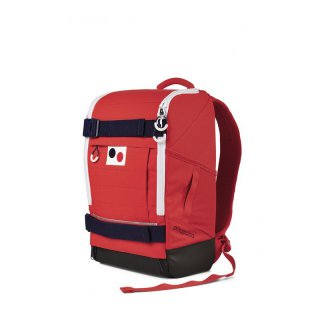 pinqponq Backpack Cubiq Large Flame Red