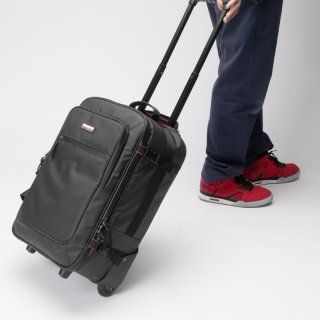 MAGMA RIOT Carry-On Trolley black/red