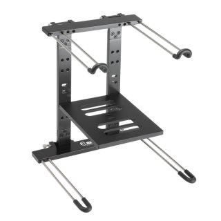 Adam Hall SLT 006 B Laptopstand, schwarz
