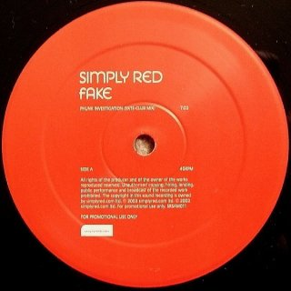 Simply Red - Fake (Phunk Investigation Mixes) Vinyl