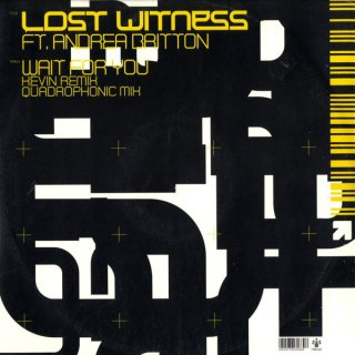 Lost Witness Ft. Andrea Britton - Wait For You Vinyl