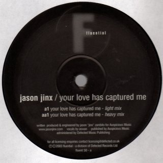 Jason Jix - Your Love Has Captured Me Vinyl